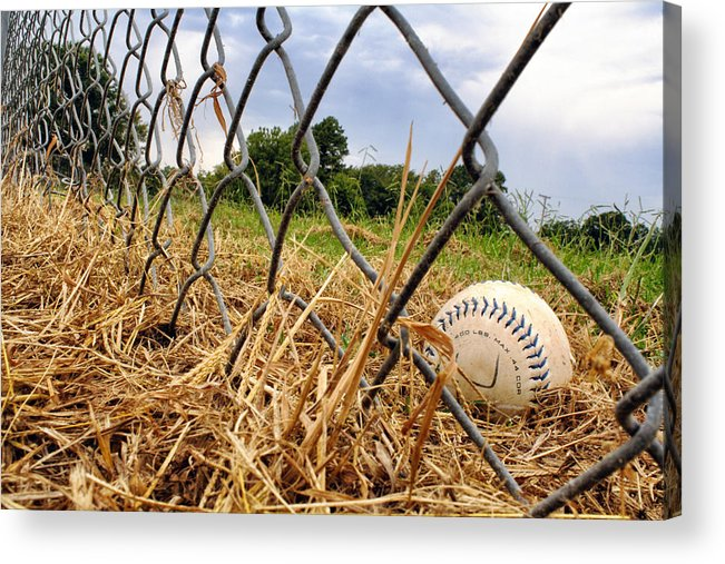 Baseball Acrylic Print featuring the photograph Field Of Dreams by Jason Politte