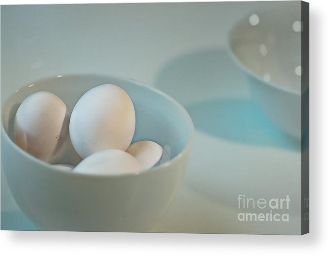 Five Acrylic Print featuring the photograph Five Eggs by Catherine Fenner