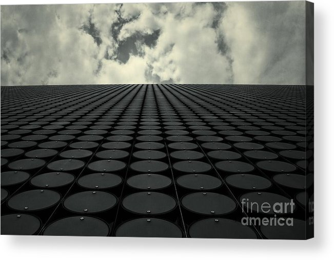 Architecture Acrylic Print featuring the photograph Interdimensional by Andrew Paranavitana