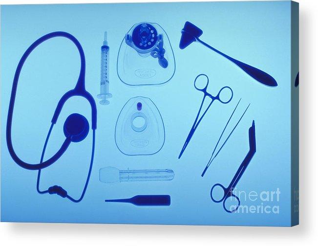 Health Acrylic Print featuring the photograph Medical Equipment by Blair Seitz