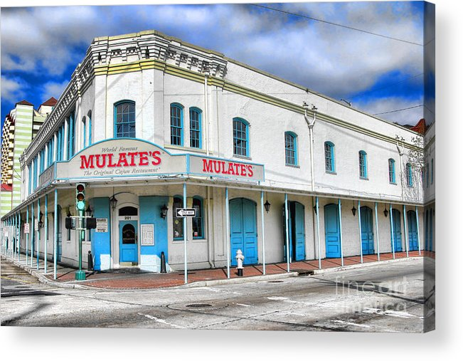 Mulates Acrylic Print featuring the photograph Mulates New Orleans by Olivier Le Queinec