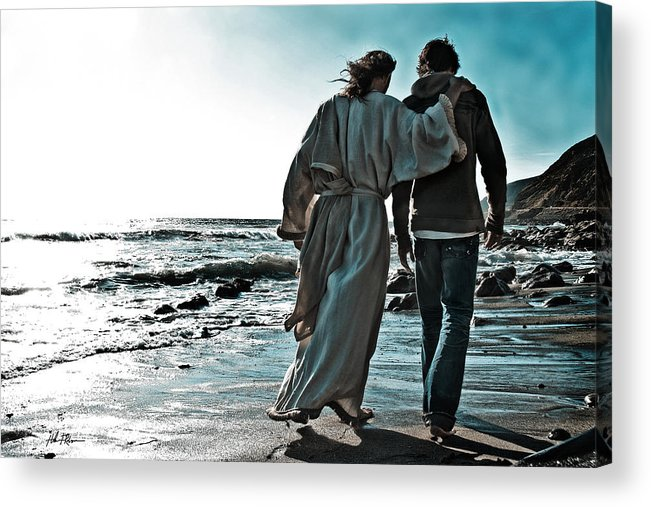 My Friend Acrylic Print featuring the photograph My Friend by Helen Thomas Robson