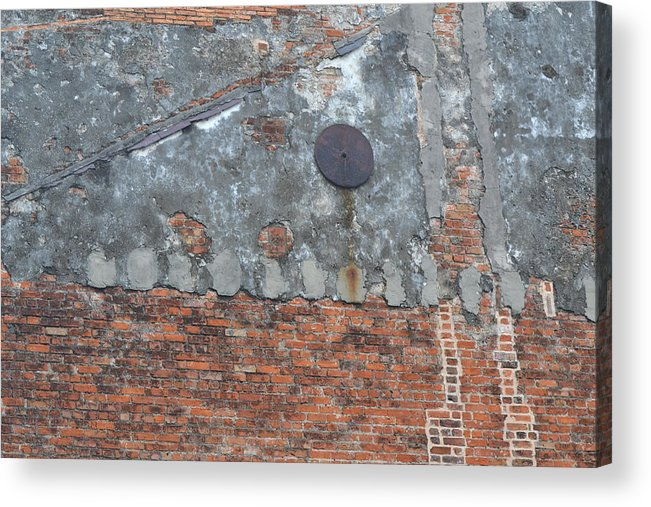 Wall Acrylic Print featuring the photograph New Orleans Wall by Bill Mock