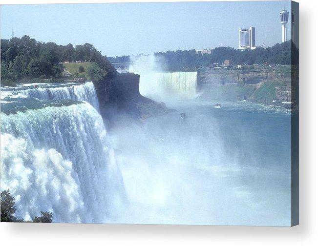 Landmark Acrylic Print featuring the photograph Niagara Falls - New York by Mike McGlothlen