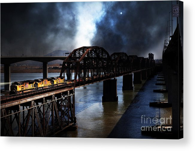 Wingsdomain Acrylic Print featuring the photograph Once Upon A Time In The Story Book Town Of Benicia California - 5d18849 by Wingsdomain Art and Photography