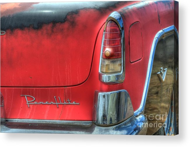 Car Acrylic Print featuring the photograph Powerflite by Bob Christopher