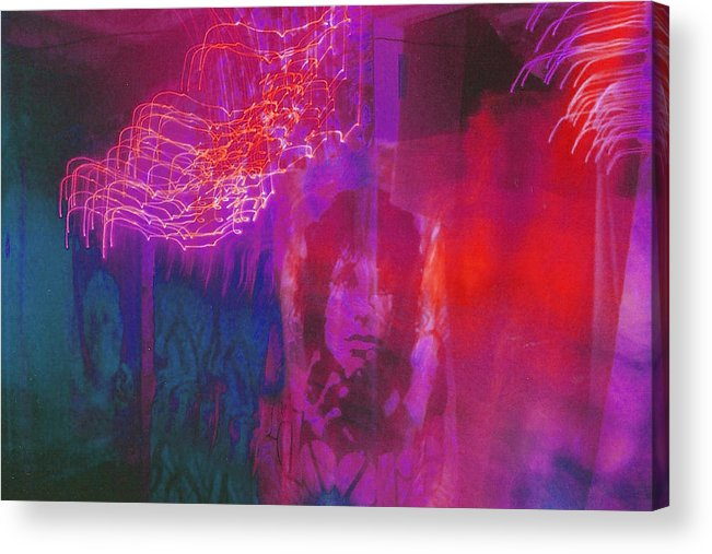Psychedelic Acrylic Print featuring the photograph Riders Of The Storm by Brian Nogueira
