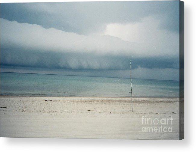 Sandy Neck Beach Acrylic Print featuring the tapestry - textile Sandy Neck Beach Sandwich by Lisa Marie Germaine