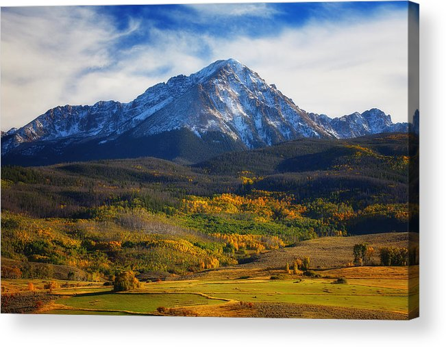 Autumn Landscapes Acrylic Print featuring the photograph Seasons Change by Darren White