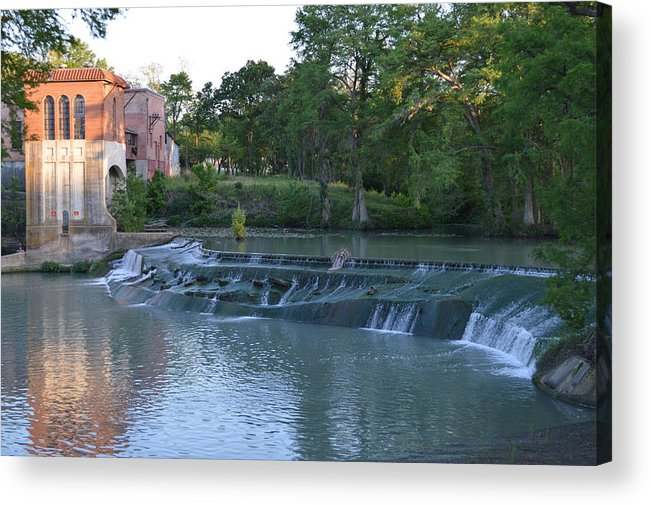 Architectur Acrylic Print featuring the photograph Seguin Tx 02 by Shawn Marlow