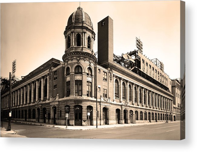 Shibe Park Acrylic Print featuring the photograph Shibe Park by Bill Cannon