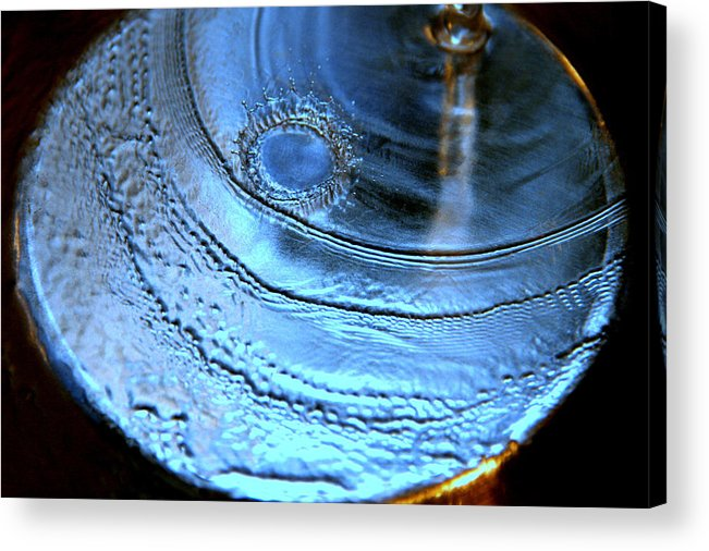 Water Photography Acrylic Print featuring the photograph Splash by Kathy Peltomaa Lewis