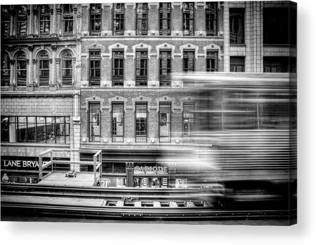 Chicago Acrylic Print featuring the photograph The Elevated by Scott Norris