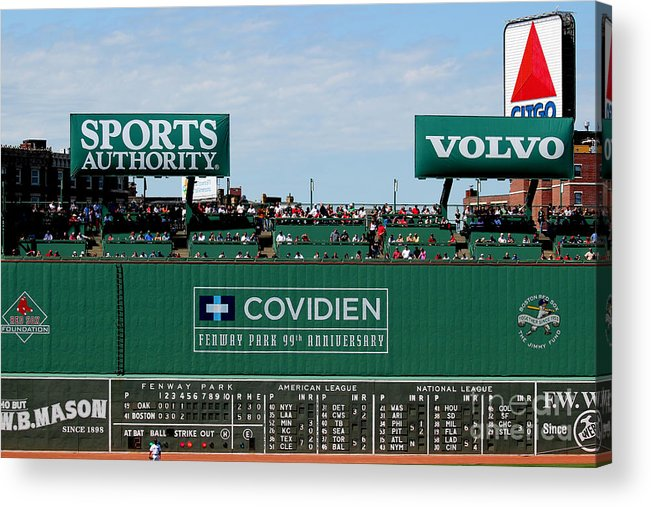 Fine Art America Acrylic Print featuring the photograph The Green Monster 99 by Tom Prendergast