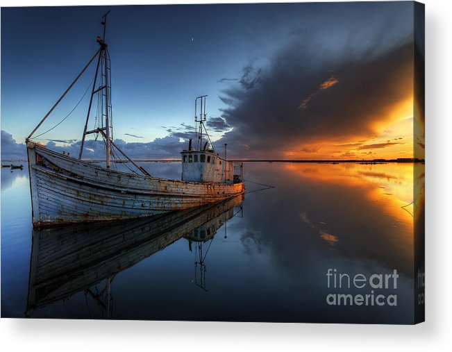 Guiding Light Acrylic Print featuring the photograph The Guiding Light by English Landscapes