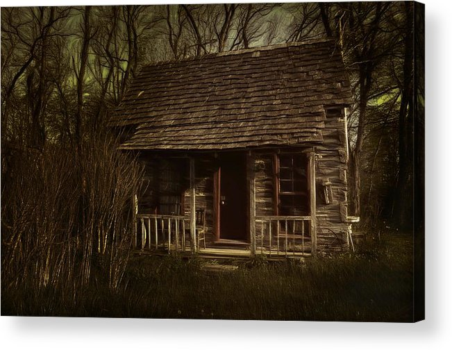 Hermits Acrylic Print featuring the photograph The Hermit's Cabin by Julie Dant