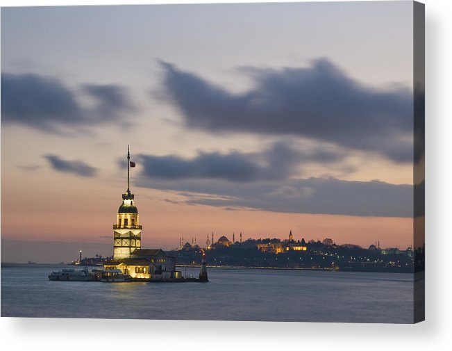 Turkey Acrylic Print featuring the photograph The Maiden's Tower by Ayhan Altun