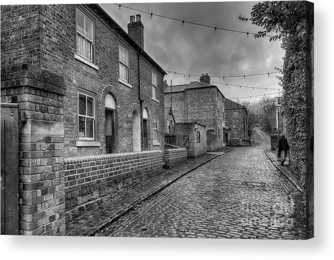 Alley Acrylic Print featuring the photograph Victorian Street by Adrian Evans