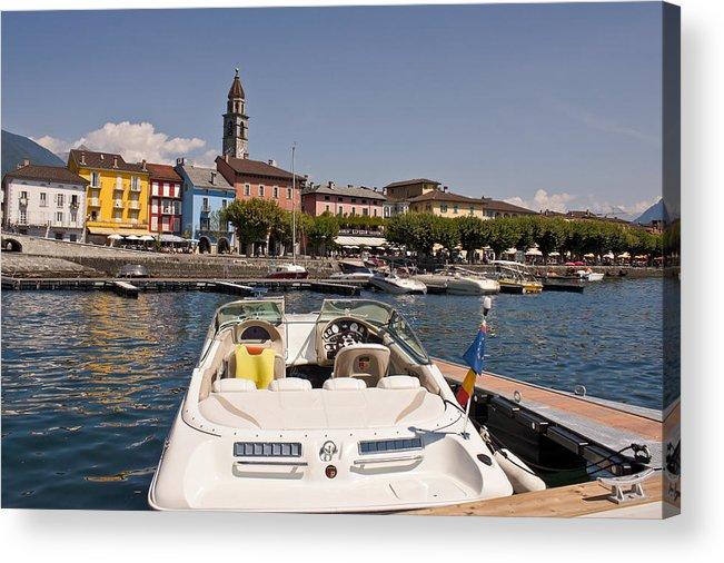 Apartment Acrylic Print featuring the photograph Ascona - Ticino by Joana Kruse