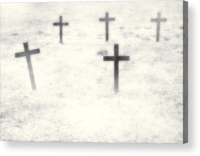 Cemetery Acrylic Print featuring the photograph Cemetery by Joana Kruse