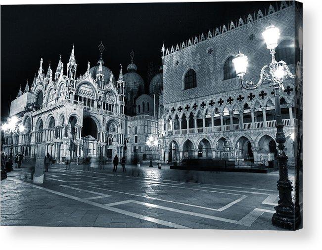 St. Mark Acrylic Print featuring the photograph Venice by Joana Kruse