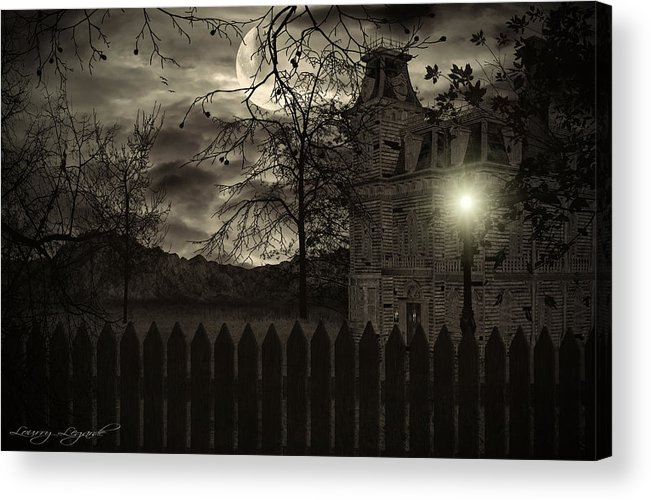 Haunted House Acrylic Print featuring the photograph Arrival by Lourry Legarde
