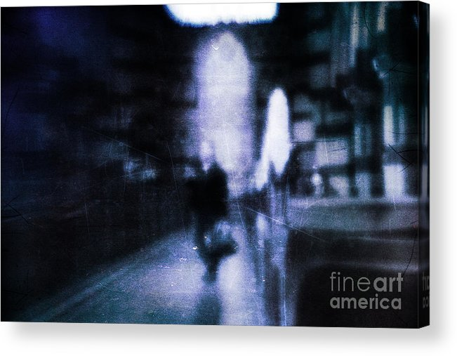 Blue Acrylic Print featuring the photograph Haunted by Andrew Paranavitana
