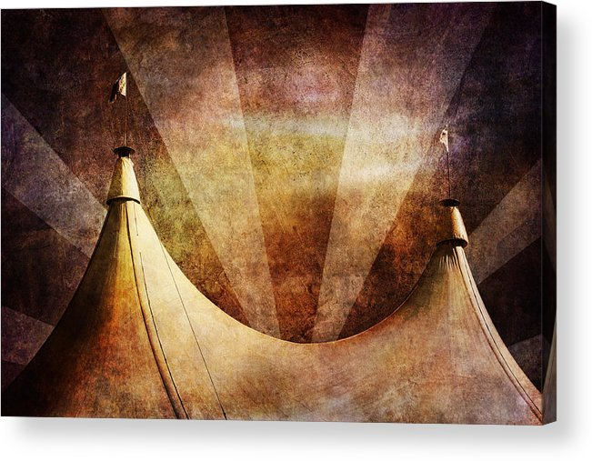Circus Acrylic Print featuring the photograph Showtime by Andrew Paranavitana
