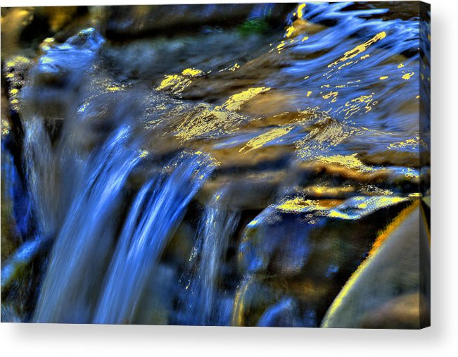 Waterfall Acrylic Print featuring the photograph Taylor Waterfall by David Clark