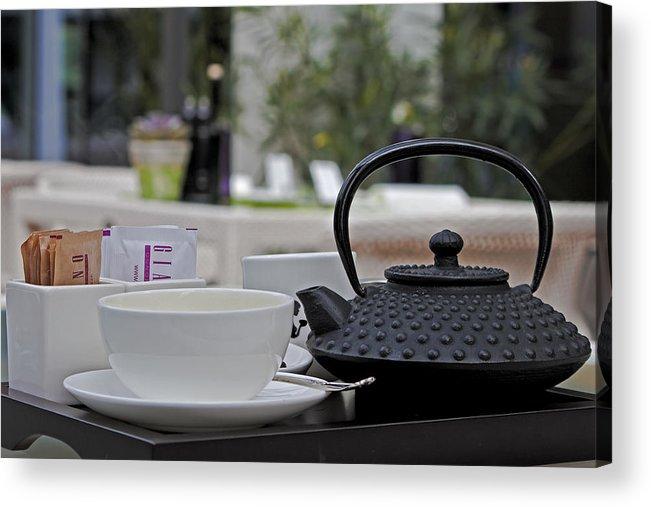 Chair Acrylic Print featuring the photograph Tea Time by Joana Kruse