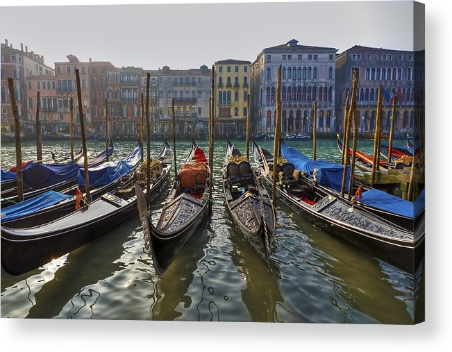 Architecture Acrylic Print featuring the photograph Venice - Italy by Joana Kruse