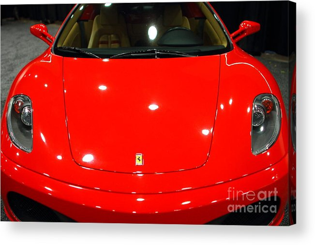 Transportation Acrylic Print featuring the photograph 2006 Ferrari F430 Spider . 7d9383 by Wingsdomain Art and Photography