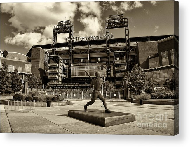 Citizens Park Acrylic Print featuring the photograph Citizens Park 1 by Jack Paolini