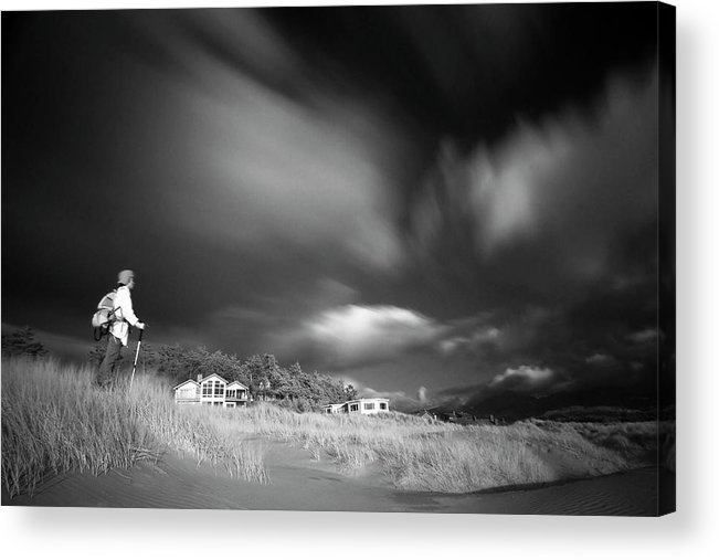 Infrared Acrylic Print featuring the photograph Destination by William Lee