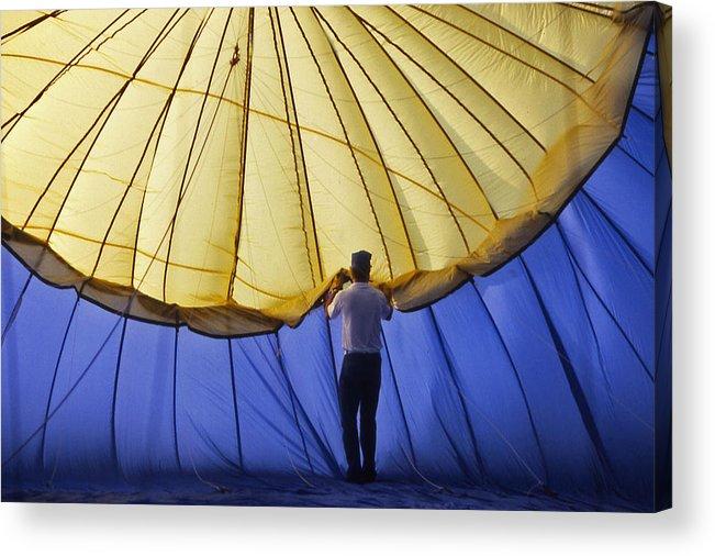 Hot Air Balloon Acrylic Print featuring the photograph Hot Air Balloon - 11 by Randy Muir