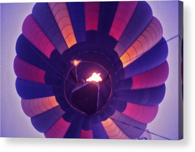 Hot Air Balloon Acrylic Print featuring the photograph Hot Air Balloon - 7 by Randy Muir