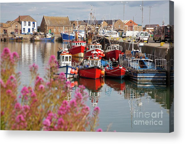 Harbor Acrylic Print featuring the photograph Howth Harbour by Gabriela Insuratelu