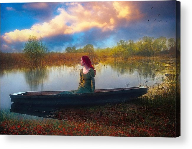 Waiting Acrylic Print featuring the photograph I Will Wait For You by John Rivera