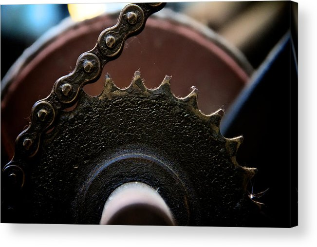 Machinery Acrylic Print featuring the photograph Industrial Revolution by Odd Jeppesen
