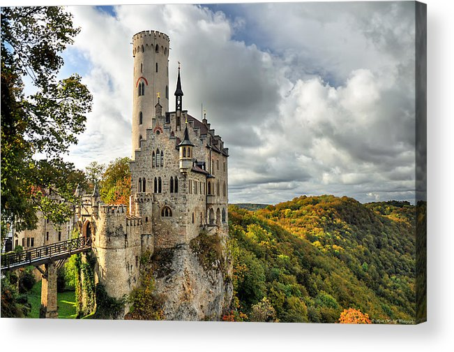 Germany Acrylic Print featuring the photograph Lichtenstein Castle by Ryan Wyckoff