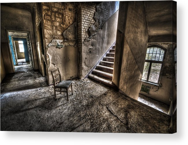 Room Acrylic Print featuring the photograph Middle Floor Seating by Nathan Wright