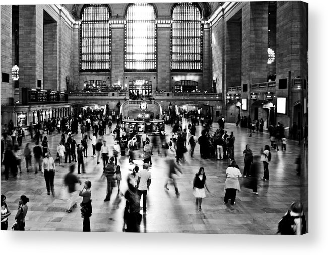 Darren Acrylic Print featuring the photograph Rush Hour by Darren Scicluna
