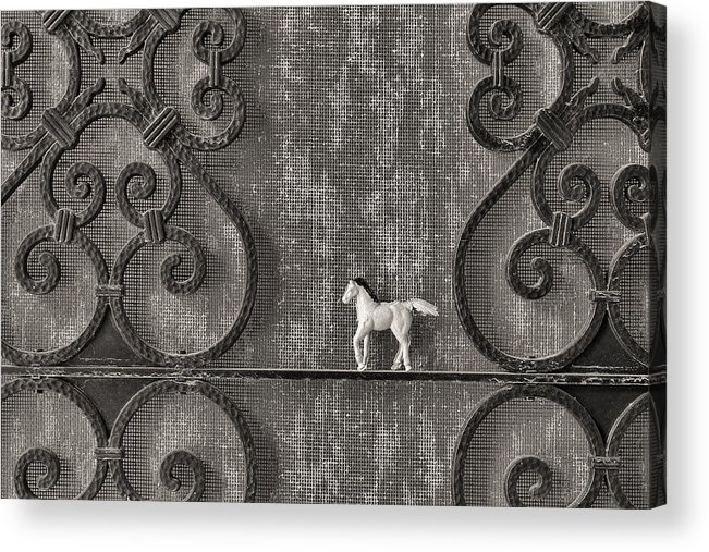 Silver Acrylic Print featuring the photograph Silver Nostalgia by Jeff Gettis