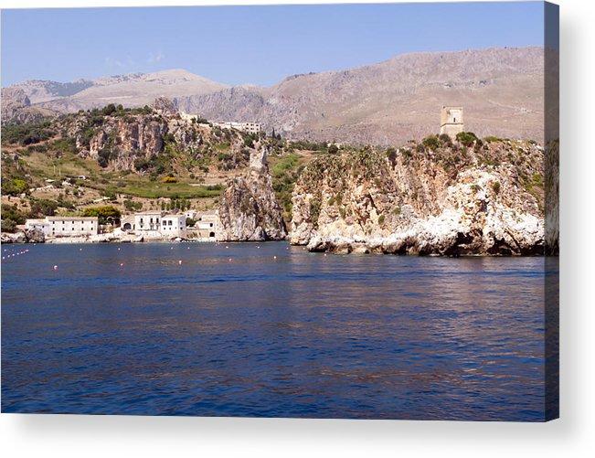 Zingarao Acrylic Print featuring the photograph The Coast Of Zingaro Reserve by Focus Fotos