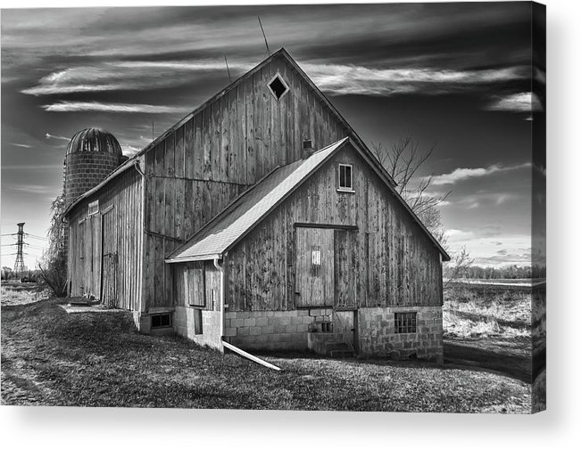 Barn Acrylic Print featuring the photograph The Fargo Project 12232b by Guy Whiteley