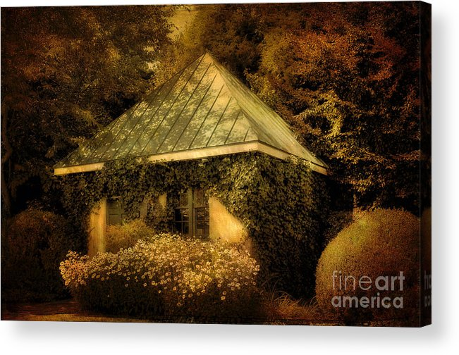 Gatehouse Acrylic Print featuring the photograph The Gatehouse by Lois Bryan