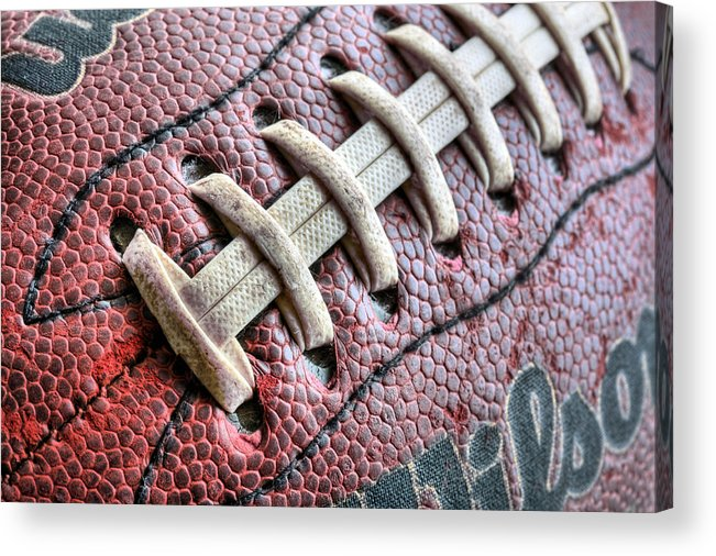 Football Acrylic Print featuring the photograph The Path by JC Findley