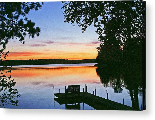Sunset Acrylic Print featuring the photograph Thinking Of You by Bill Morgenstern