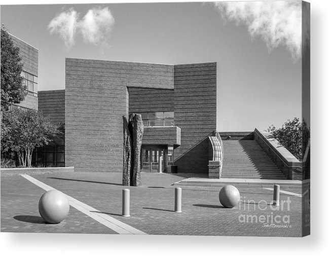 American Acrylic Print featuring the photograph University Of Cincinnati Mary Emery Hall by University Icons