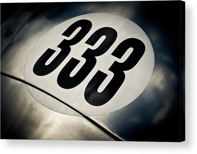 Numer Three Acrylic Print featuring the photograph 333 by Phil 'motography' Clark